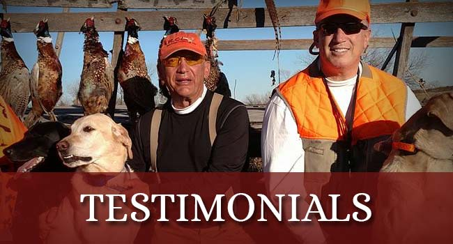 Rieger Creek Lodge Testimonials